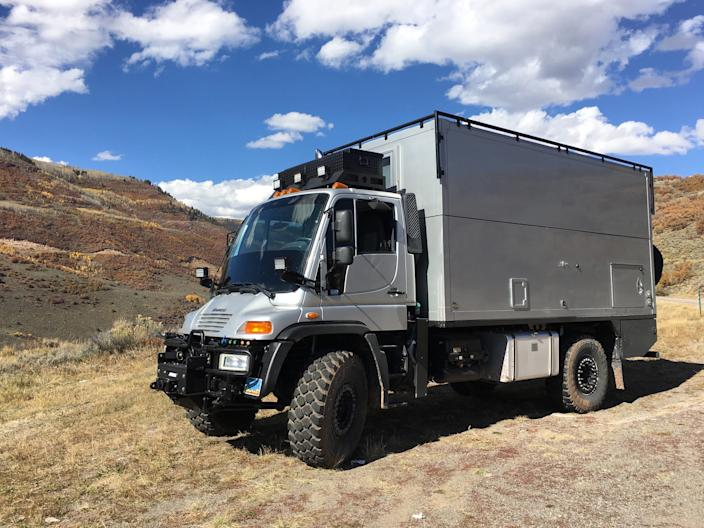 The Pangea from Global Expedition Vehicles. 8