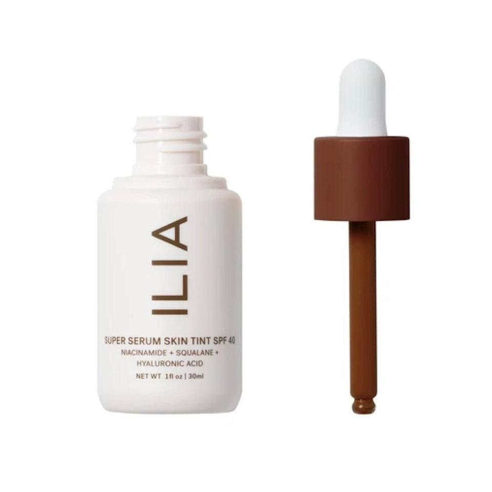 """The internet's going wild for <a href=""""https://shop-links.co/1720900351739682836"""" rel=""""nofollow noopener"""" target=""""_blank"""" data-ylk=""""slk:Ilia's Super Serum Skin Tint with SPF 40"""" class=""""link rapid-noclick-resp"""">Ilia's Super Serum Skin Tint with SPF 40</a>, and you will too. With only a dab or two of this serumlike foundation, it easily blends to even skin tone and creates a smooth finish, leaving a <a href=""""https://www.glamour.com/story/tatcha-the-dewy-skin-cream-review?mbid=synd_yahoo_rss"""" rel=""""nofollow noopener"""" target=""""_blank"""" data-ylk=""""slk:dewy"""" class=""""link rapid-noclick-resp"""">dewy</a> tint of healthy-looking, luminous skin. $46, Ilia. <a href=""""https://shop-links.co/1720900351739682836"""" rel=""""nofollow noopener"""" target=""""_blank"""" data-ylk=""""slk:Get it now!"""" class=""""link rapid-noclick-resp"""">Get it now!</a>"""