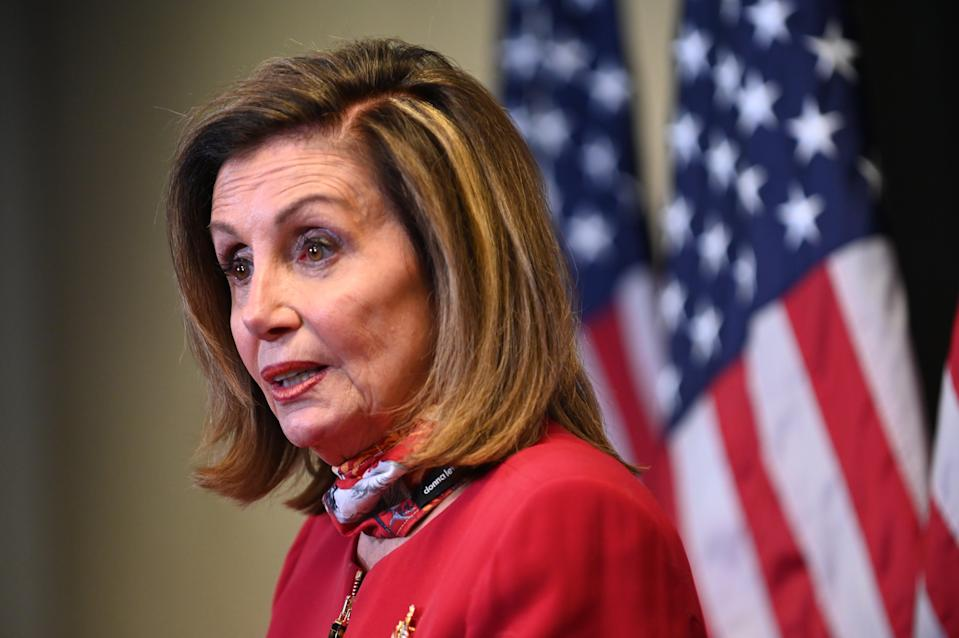 Nancy Pelosi says that Congress 'will have an agreement' on a new pandemic stimulus deal before it takes its Christmas break (Getty Images)