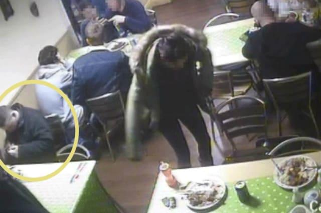 Man releases rat in bistro