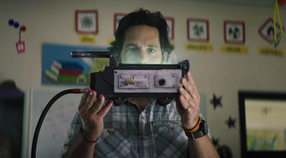 """Paul Rudd in """"Ghostbusters: Afterlife."""""""