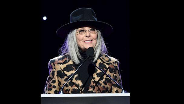 PHOTO: Diane Keaton speaks onstage during the 2020 Writers Guild Awards West Coast Ceremony at The Beverly Hilton Hotel on Feb. 01, 2020, in Beverly Hills, Calif. (Amy Sussman/Getty Images for WGAW)