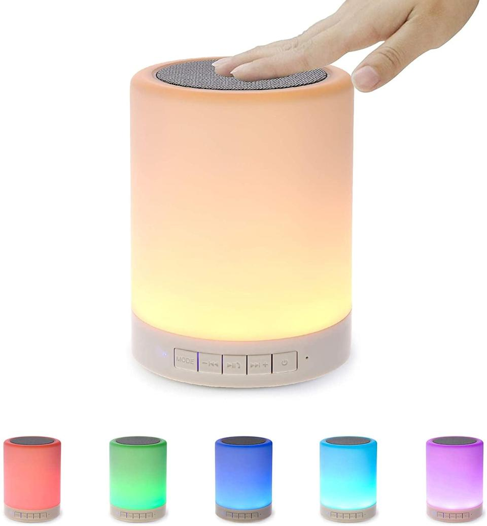 <p>You can also use this <span>SHAVA Bluetooth Speaker</span> ($20, originally $30) as a table lamp. </p>