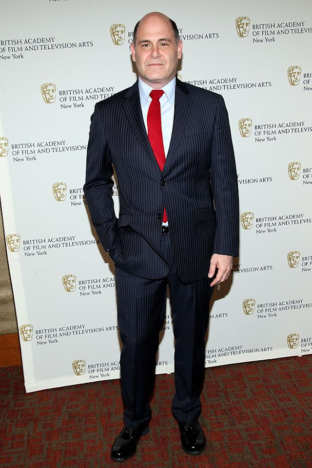 "Matthew Weiner attends BAFTA New York Celebrates ""Mad Men"" at The Harvard Club on April 22, 2013 in New York City."