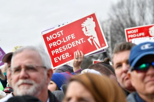 """The """"March for Life"""" is held annually on or near the anniversary of the US Supreme Court's ruling in the Roe v Wade case which legalized the procedure nationwide on January 22, 1973"""