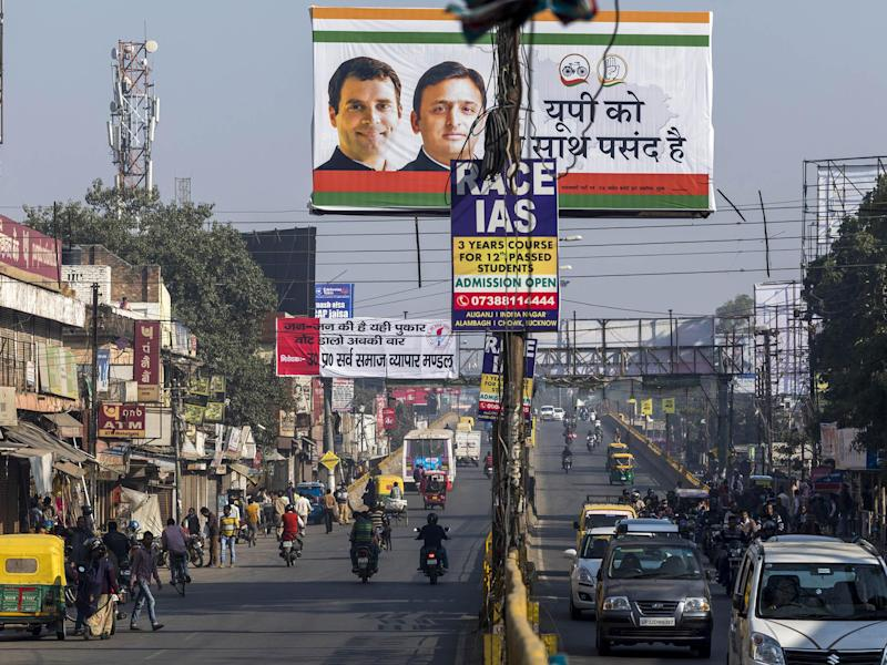 An intersection in Lucknow, Uttar Pradesh (file photo): Prashanth Vishwanathan/ Bloomberg