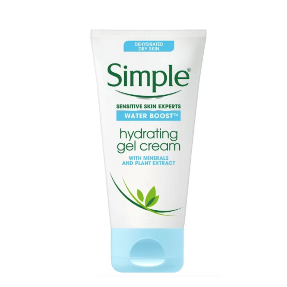"""<p>We were pleasantly surprised by the <a href=""""https://www.allure.com/review/simple-water-boost-hydrating-gel-cream?mbid=synd_yahoo_rss"""" rel=""""nofollow noopener"""" target=""""_blank"""" data-ylk=""""slk:skin-quenching power"""" class=""""link rapid-noclick-resp"""">skin-quenching power</a> contained within this little tube of unassuming moisturizer. In fact, it keeps skin dewy without any semblance of greasiness. Plus, sensitive skin types can rest assured that this stuff is as gentle as they come (i.e. free of fragrance and infused with calming plant extracts).</p> <p><strong>$11</strong> (<a href=""""https://shop-links.co/1681642065042108395"""" rel=""""nofollow noopener"""" target=""""_blank"""" data-ylk=""""slk:Shop Now"""" class=""""link rapid-noclick-resp"""">Shop Now</a>)</p>"""