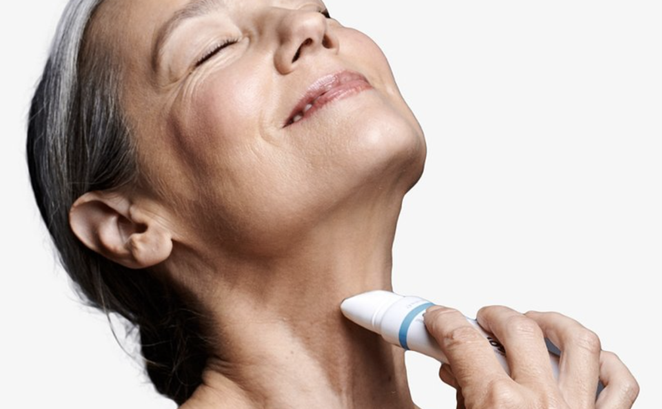 Dermalogica's Neck Fit Contour Serum is a lifesaver for work from home.