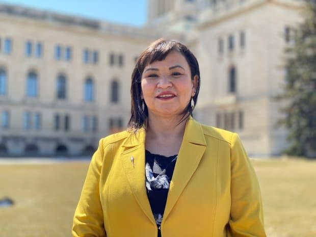 Betty Nippi-Albright, NDP MLA for Saskatoon Centre, says the Saskatchewan government should gather statistics on how the COVID-19 pandemic is affecting the province's Indigenous population. (Kirk Fraser/CBC - image credit)