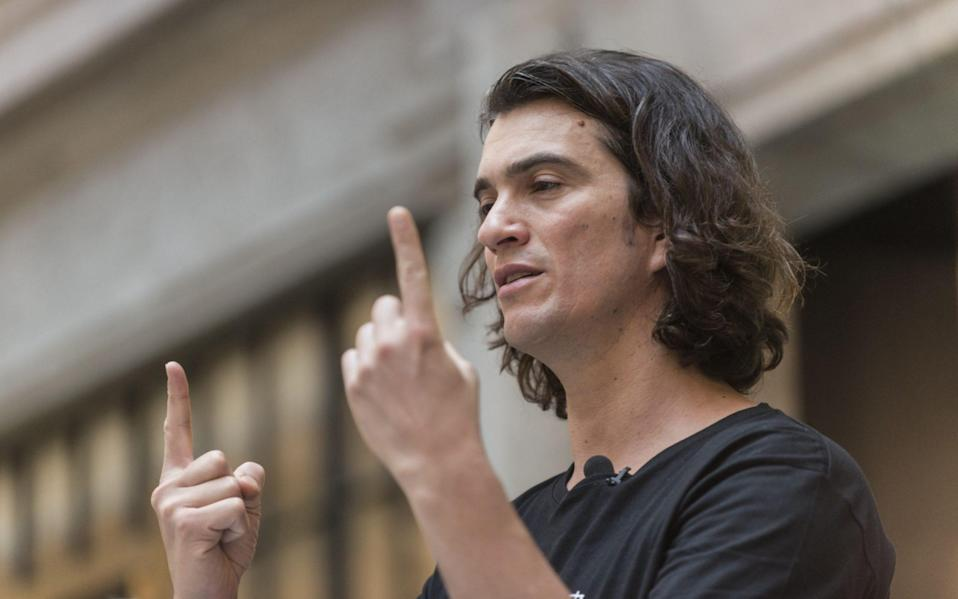 Former WeWork chief executive Adam Neumann - VCG