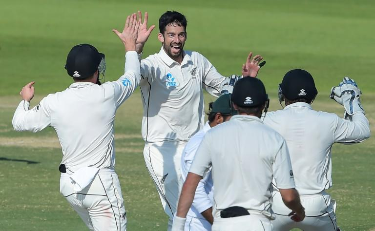 Will Somerville's trio of wickets secured the Black Caps' first away series win against Pakistan since 1969