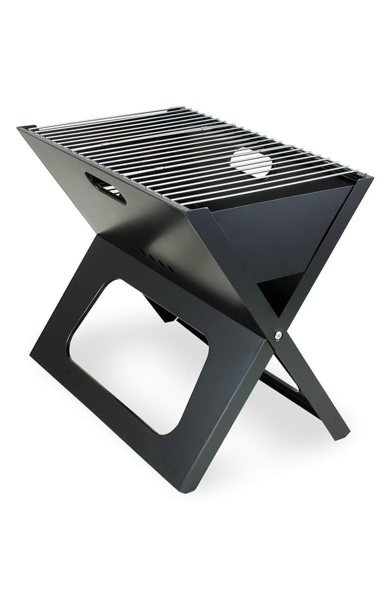 <p>The <span>X-Grill Portable Charcoal Barbecue</span> ($47) is easy to take anywhere. Simply fold it, grab the handles, and go.</p>