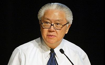 Dr Tony Tan has dismissed rumours of giving his son special treatment. (AFP Photo)