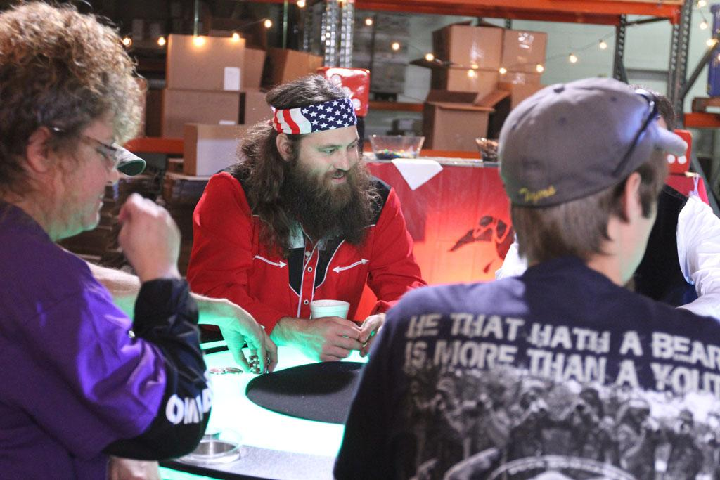 "Willie Robertson in the ""Duck Dynasty"" Season 3 episode, ""Tickets to the Fun Show."""