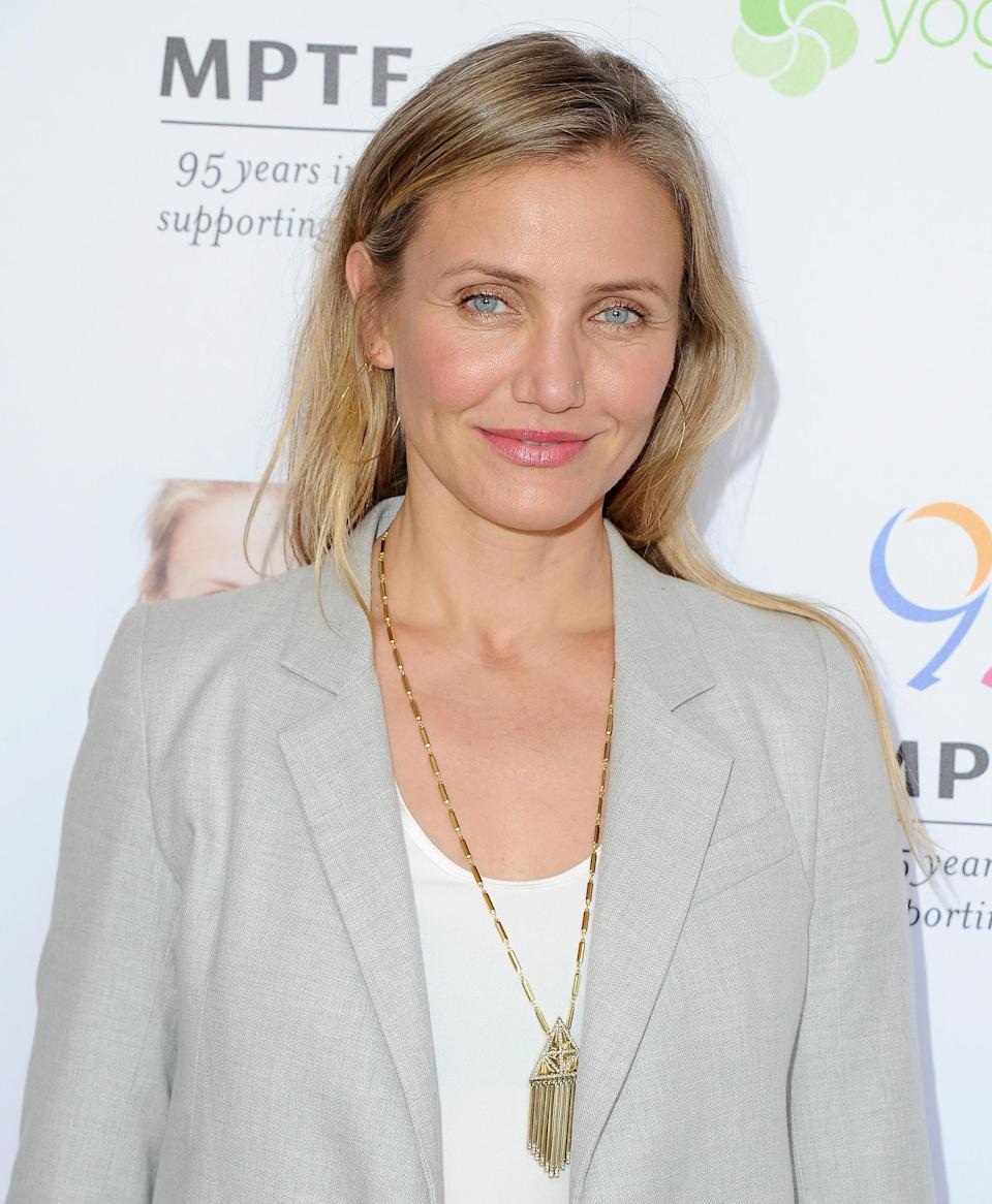Cameron Diaz, pictured in June 2016 (her last red carpet), is the subject of new pregnancy rumors. (Photo: Getty Images)