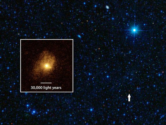Eco-Friendly Galaxy Wastes Nothing to Build Stars