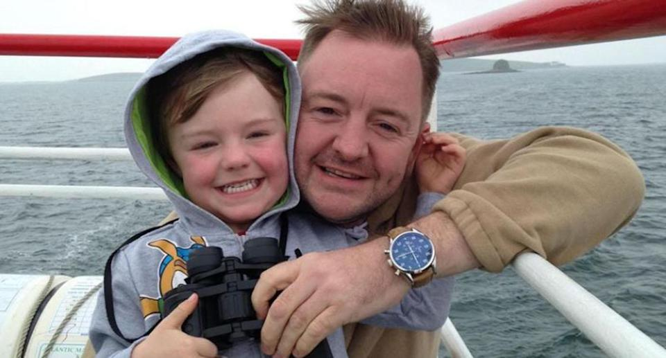Brodie's father said his biggest regret was not being there to protect his son. Source: AAP