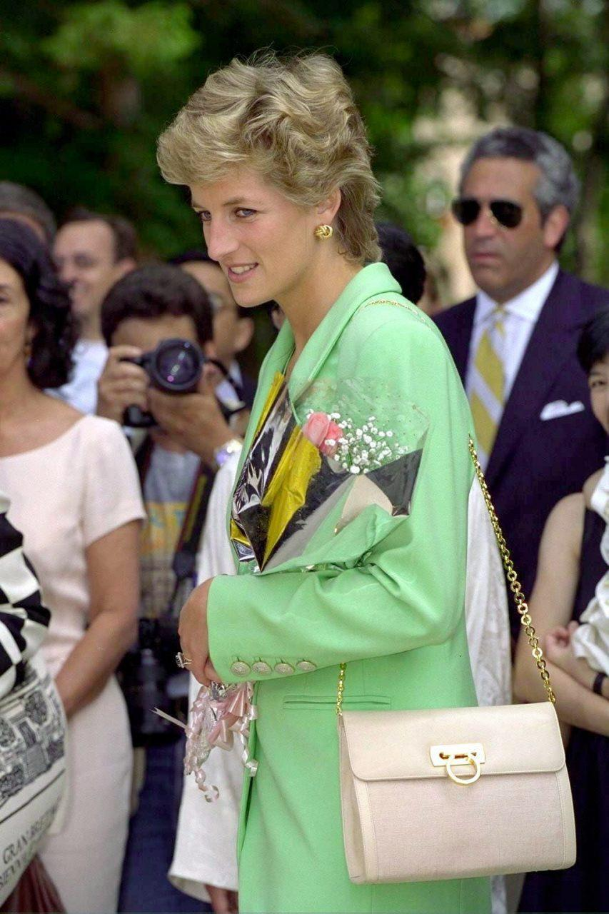 The Salvatore Ferragamo Lady Di, which the princess owned in a smorgasbord of pastel shades. TIM GRAHAM
