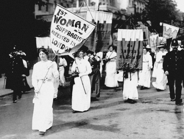 The suffragettes fought long and hard for women's right to vote [Photo: PA Images]