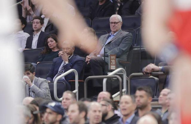 Phil Jackson was for discord before he was against it. (AP)