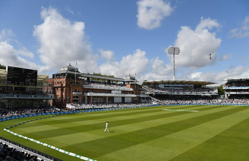 LONDON, ENGLAND - AUGUST 18: A general view of the Lords Pavilion during day five of the 2nd Ashes Test match between England and Australia at Lord's Cricket Ground on August 18, 2019 in London, England. (Photo by Stu Forster/Getty Images)