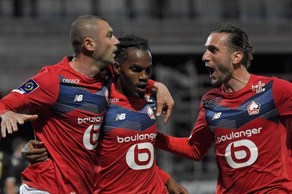 <p>Lille are Ligue 1 champions for the first time in a decade</p> (AFP via Getty Images)