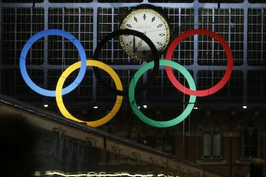 Picture of the Olympic rings