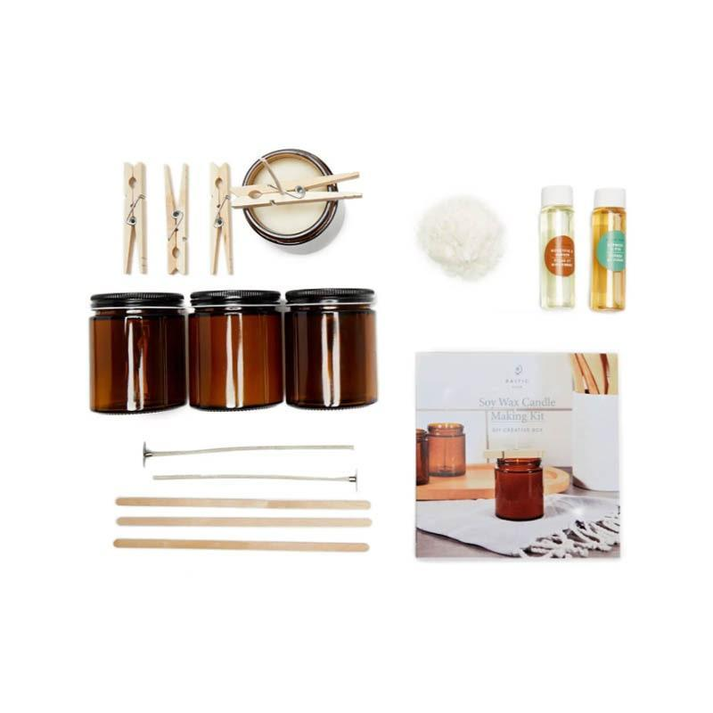 "A fun weekend activity for your friends who've cycled through a number of new hobbies during quarantine. It comes with all the essentials they need—amber glass jars, cotton wicks, soy wax—to make four non-toxic candles. $45, Nordstrom. <a href=""https://www.nordstrom.com/s/baltic-club-soy-wax-candle-making-kit/5747392"" rel=""nofollow noopener"" target=""_blank"" data-ylk=""slk:Get it now!"" class=""link rapid-noclick-resp"">Get it now!</a>"