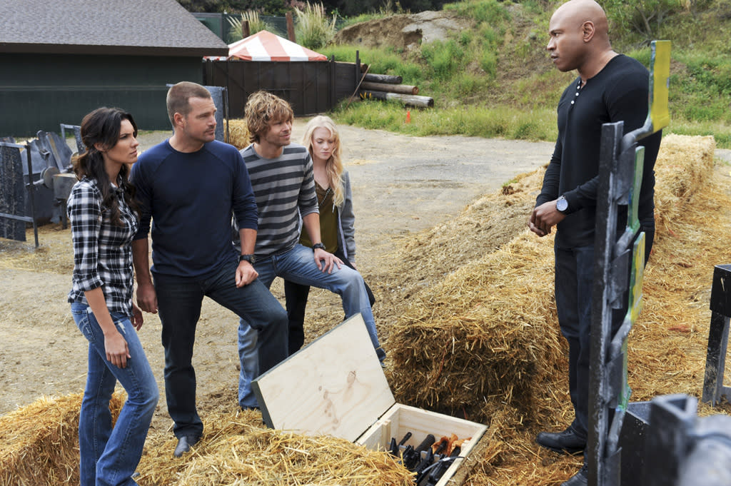 "<b>""NCIS: Los Angeles""</b><br><br>Tuesday, 5/15 at 9 PM on CBS<br><br><a href=""http://yhoo.it/IHaVpe"">More on Upcoming Finales </a>"