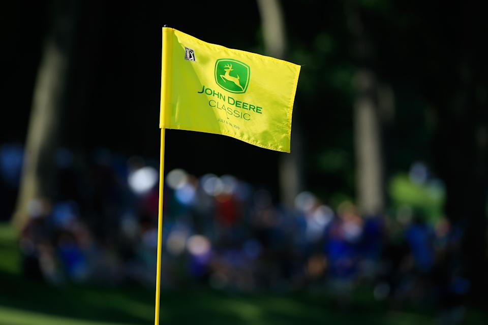 The PGA Tour was hoping to allow fans back at the John Deere Classic this summer for the first time in its revised schedule. (Michael Cohen/R&A/Getty Images)
