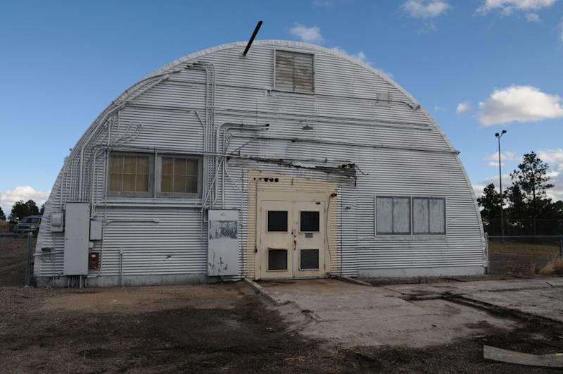 This undated image provided by the Los Alamos National Laboratory shows the Quonset hut where the bomb that was dropped on Nagasaki was assembled. Tucked away in one of northern New Mexico's pristine mountain canyons is the birthplaces of a top-secret mission that forever changed the world. The iconic areas scattered in and around the modern day Los Alamos National Laboratory are being proposed as sites for a new national park commemorating the Manhattan Project. (AP Photo/Los Alamos National Laboratory)