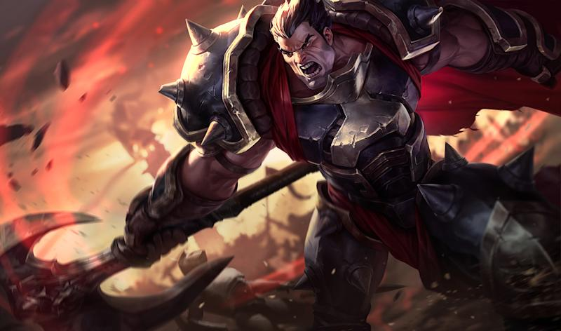 Darius was nearly permanently picked or banned at Worlds 2015 (Riot Games)