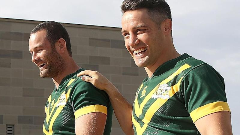 Cordner and Cronk. Pic: Getty