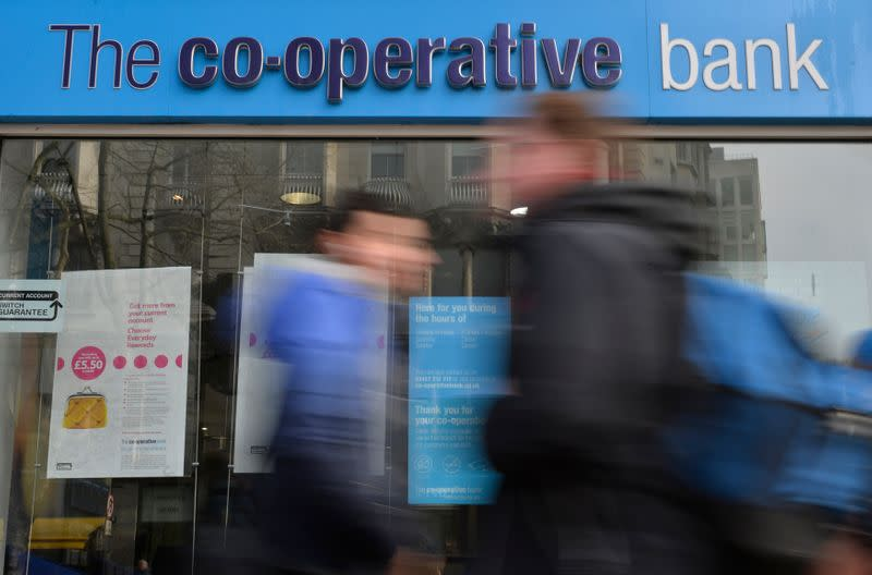 Britain's Co-op Bank cutting 350 jobs, closing 18 branches