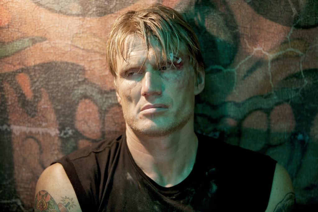 """<a href=""""http://movies.yahoo.com/movie/contributor/1800058493"""">DOLPH LUNDGREN</a>  Age: 52  Year of First Film Appearance: 1985  Number of Oscar Nominations: 0  Total Domestic BO Gross: $276,623,301   Dolph Lundgren has a master's degree in chemical engineering, was a Fulbright scholar at M.I.T., speaks seven languages, was an elite marine ranger in the Swedish military, and is a third degree black belt in Kyokushin karate."""