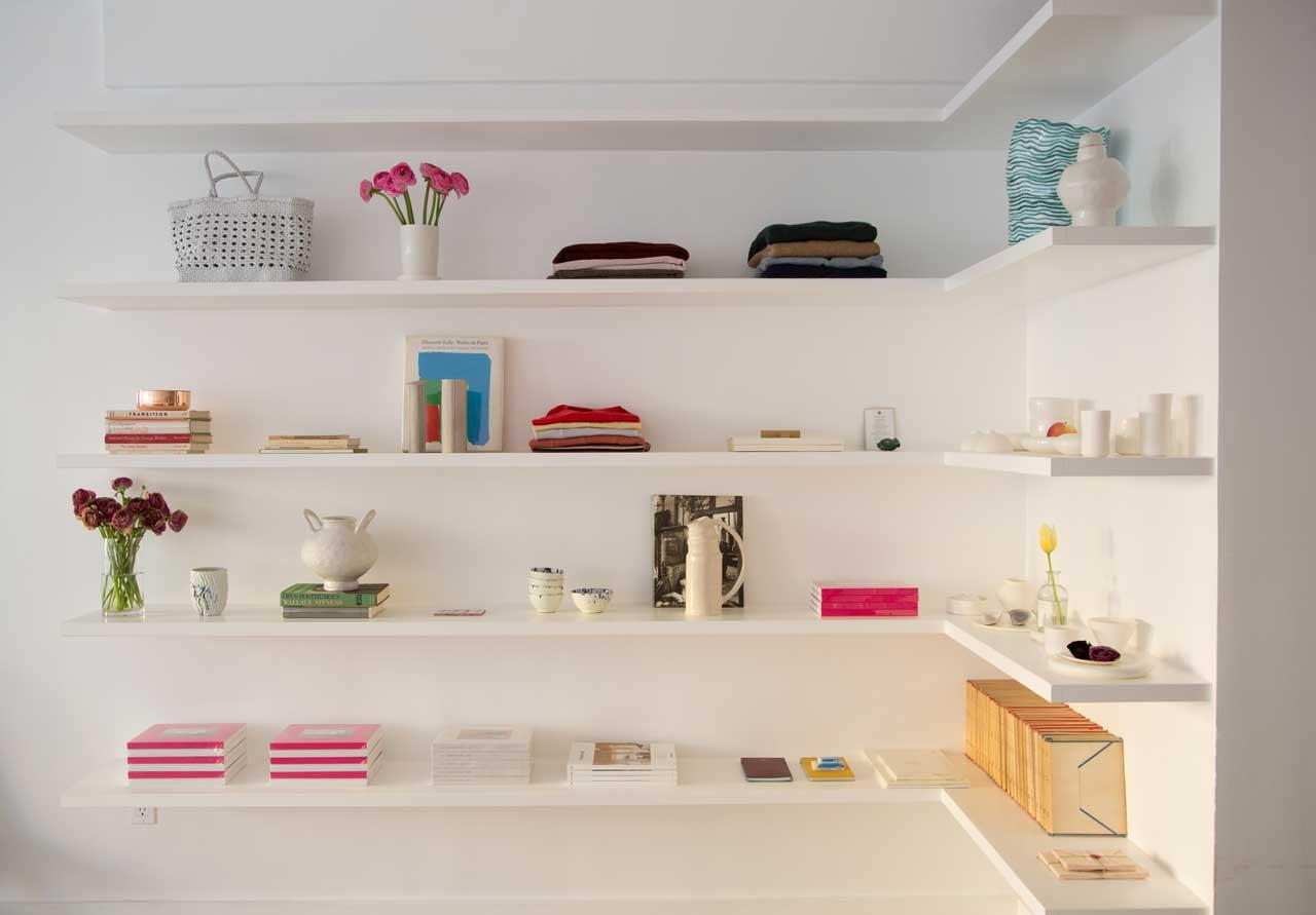 <p>In the store, you will find a tightly curated selection of ready-to-wear clothing, books, ceramics and much more in this art-gallery style boutique. (Photo: courtesy of Hesperios) </p>