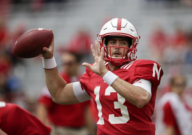 Tanner Lee is Nebraska's new starting QB. (AP)