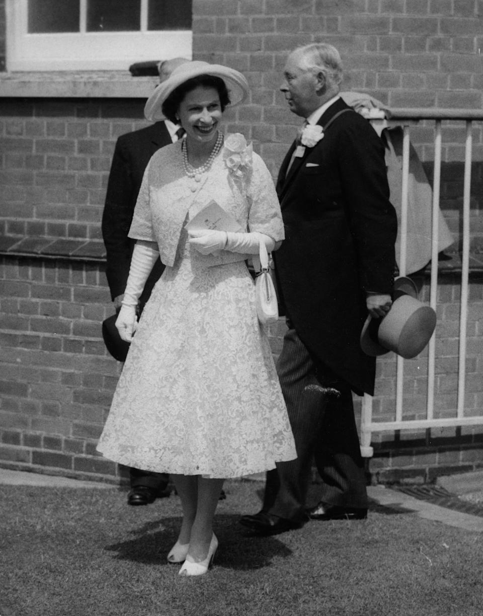 The Queen at the Royal Ascot in 1958 [Photo: Getty]