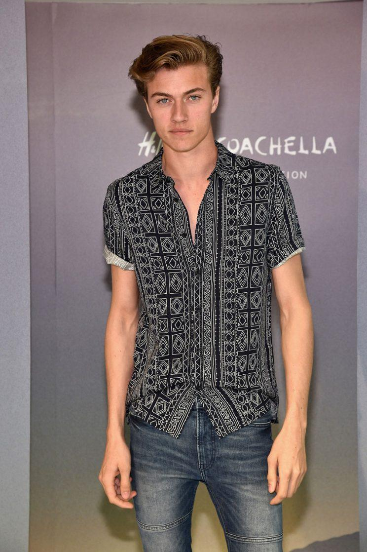 Lucky Blue Smith at H&M