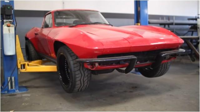 1966 (restructured and modified) Chevrolet Corvette