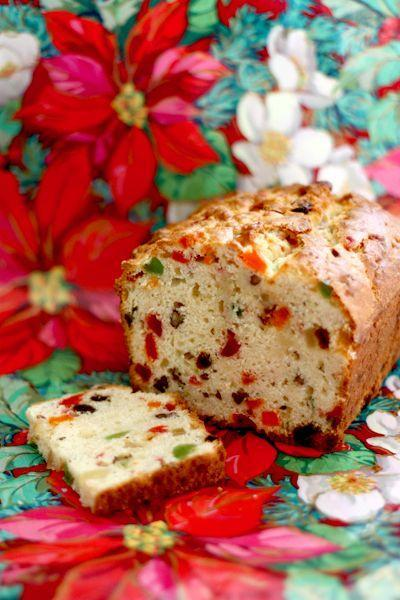 "<p>Cream cheese makes this glacé cherry-loaded loaf moist, light, and even more flavorful.</p><p><strong>Get the recipe at <a href=""http://www.diamondsfordessert.com/2009/12/my-moms-holiday-fruitcake_06.html"" rel=""nofollow noopener"" target=""_blank"" data-ylk=""slk:Diamonds for Dessert"" class=""link rapid-noclick-resp"">Diamonds for Dessert</a>.</strong></p><p><a class=""link rapid-noclick-resp"" href=""https://www.amazon.com/Good-Cook-Inch-Loaf-Pan/dp/B0026RHI5K?tag=syn-yahoo-20&ascsubtag=%5Bartid%7C10050.g.3610%5Bsrc%7Cyahoo-us"" rel=""nofollow noopener"" target=""_blank"" data-ylk=""slk:SHOP LOAF PANS"">SHOP LOAF PANS</a></p>"