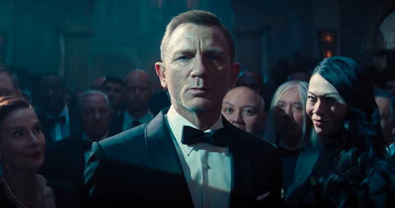 Daniel Craig as Ian Fleming's James Bond 007 in No Time To Die. (Universal/MGM/YouTube)