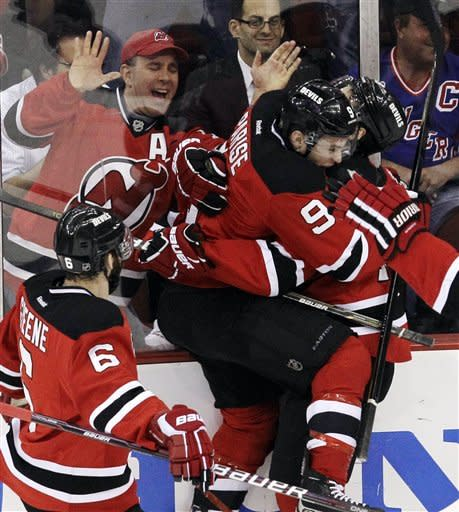 Brodeur, Devils show some fight in 4-1 Game 4 win
