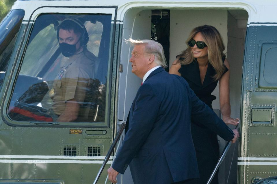 Fake Melania Trump conspiracy theory gets fresh social media enthusiasm (AP Photo/Alex Brandon)