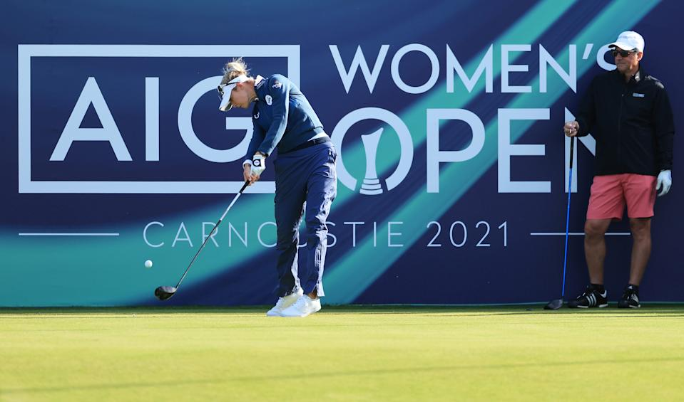 Olympic champion Nelly Korda, already a major winner this season, could be the one to beat at the AIG Women's Open at Carnoustie