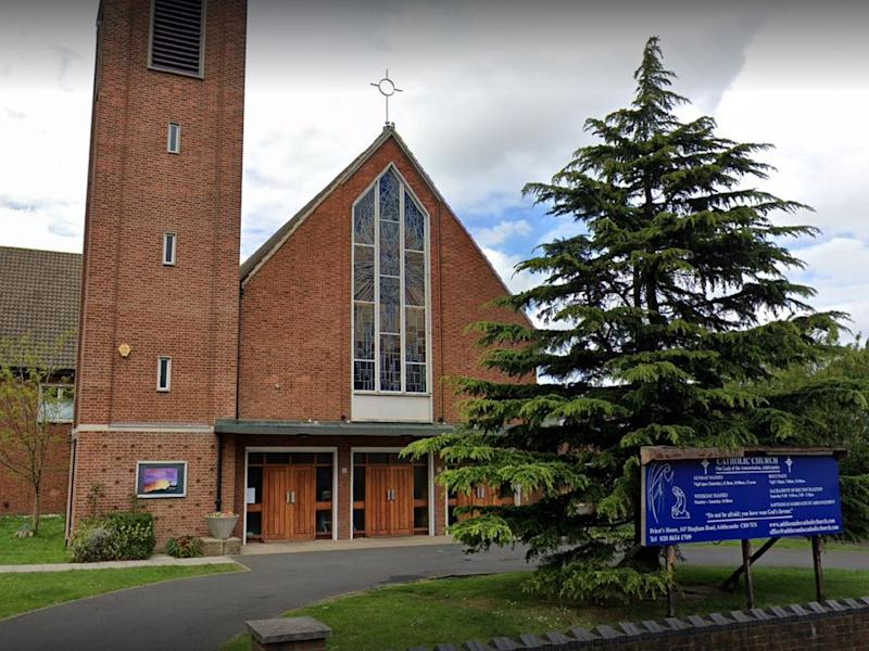 Our Lady of the Annunciation Church, in Croydon, south London: Google