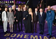 <p>The premiere was held at the the SSE Arena, Wembley, London.</p>