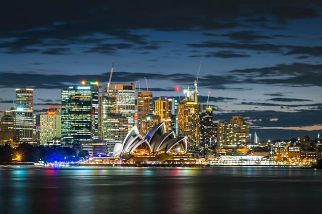 Sydney City Twilight