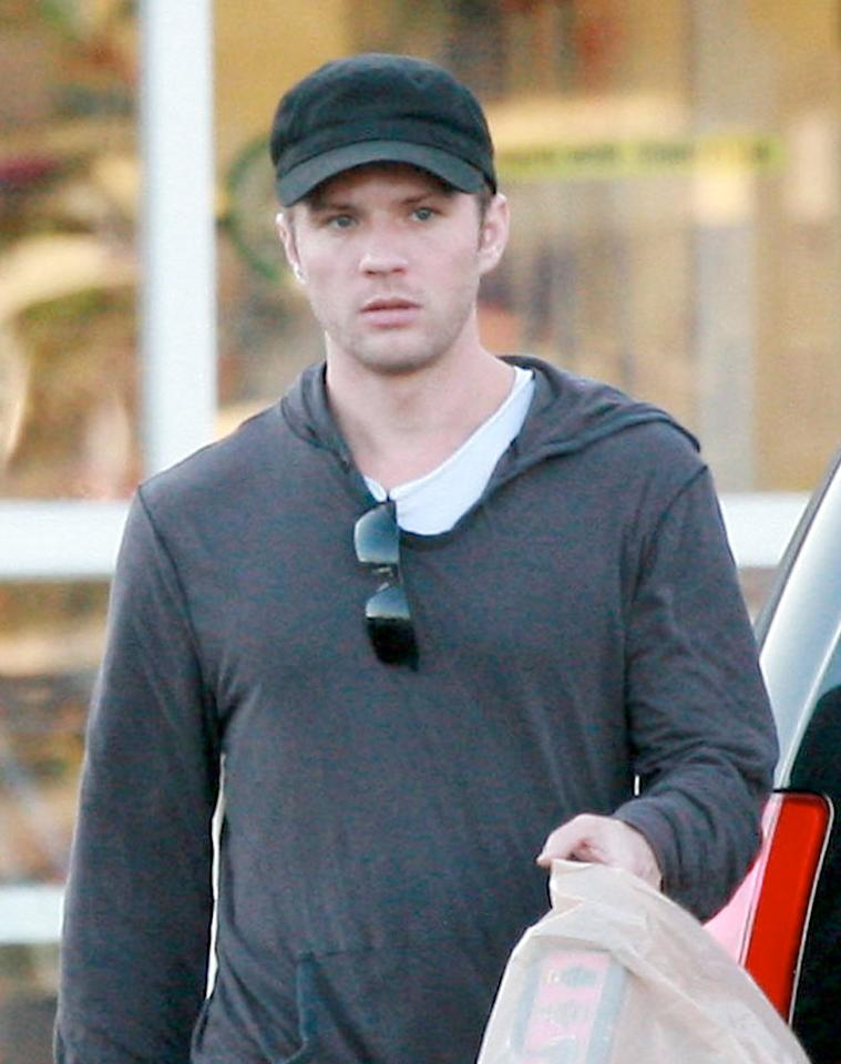 "Not so happy this week was Ryan Phillippe, who looked pretty miserable when spotted taking his kids shopping on the weekend. It was announced Sunday that the actor had broken up with his girlfriend Abbie Cornish, and Cornish was spotted removing her possessions from Phillippe's house. The two met on set while filming ""Stop-Loss"" in 2006. IONU/<a href=""http://www.x17online.com"" target=""new"">X17 Online</a> - February 20, 2010"