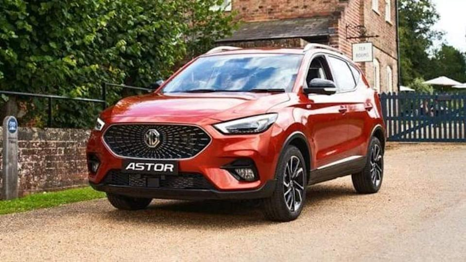 MG Astor to be launched in India on October 11